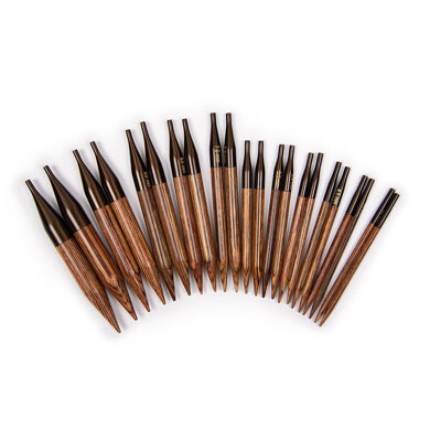 KnitPro Ginger Special Interchangeable Needle Tips Set (11 Pairs)