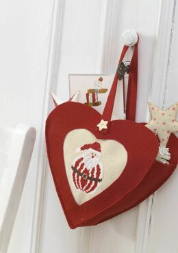 Enchanting Christmas - Heart Bag in Anchor - Downloadable PDF