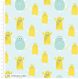 Craft Cotton Company Cutest Little Monsters - On Mint