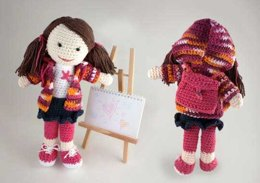 Back to School Lily Doll in Lily Sugar 'n Cream Solids