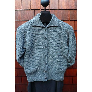 MS 205 Cable Inset Cardigan