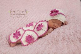 Coverlet and Hat Photo Prop