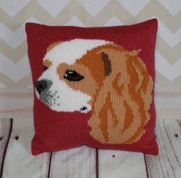 Blenheim Cavalier King Charles Spaniel Cushion Cover