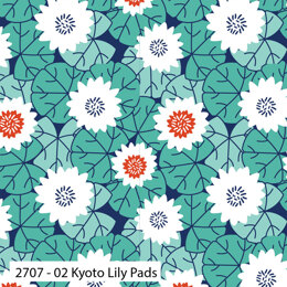 Craft Cotton Company Kyoto - Kyoto Lilly Pad