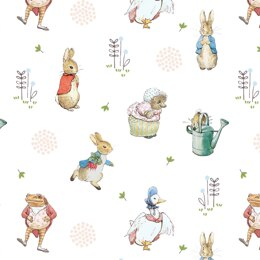 Visage Textiles Peter Rabbit and Friends - Characters