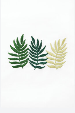 Triple Fern  in DMC - PAT0003 -  Downloadable PDF