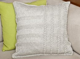 """Pillowcase """"Barley"""" with cables"""