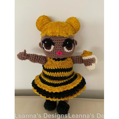 LOL (inspired) Doll Queen Bee Clothes