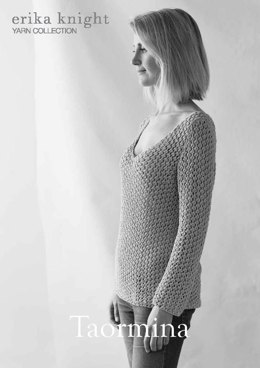 Taormina Sweater in Erika Knight Studio Linen