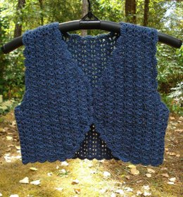 Back to School Bolero - PW-108 (crochet)