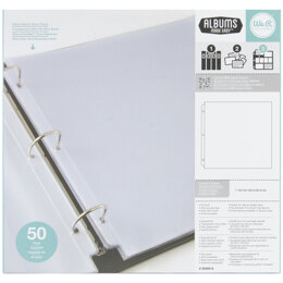 "We R Memory Keepers We R Ring Photo Sleeves 12""X12"" 50/Pkg - Full Page"