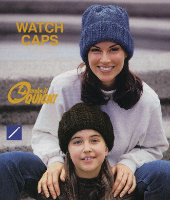 Knitting Watch Cap in Lion Brand Wool-Ease Chunky. Free. Free pattern fc919cd2c95