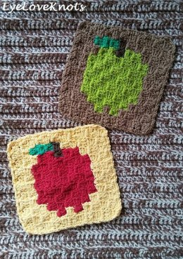 C2C Apple Washcloths