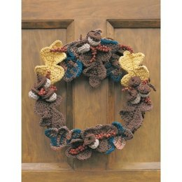 Autumn Harvest Wreath in Lily Sugar 'n Cream Solids