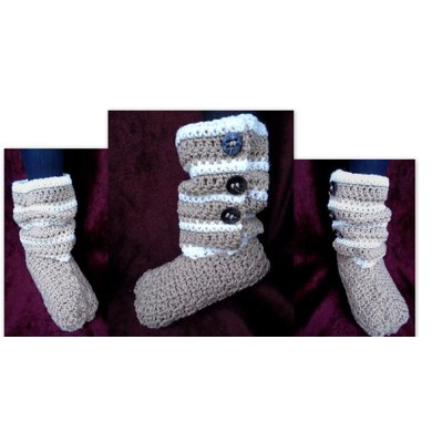 846 - Tandy Boot Slippers