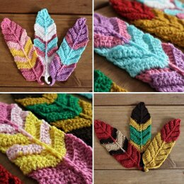 Feathers Crochet Pattern