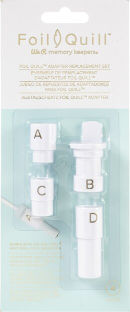 We R Memory Keepers Foil Quill Adapter Kit 4/Pkg - 597820
