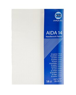 RTO Aida 14 Count 15.5in x 17.5in