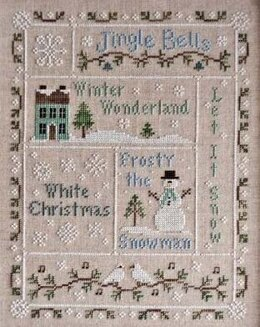 Country Cottage Snowflake Serenade - CCN43 -  Leaflet