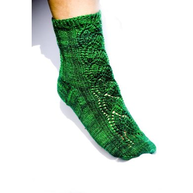 Dayflower Socks