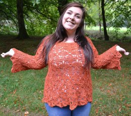 Dulcie Crochet Sweater