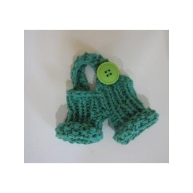Mini Knitkinz Green Pants