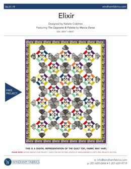 Windham Fabrics Elixir - Downloadable PDF