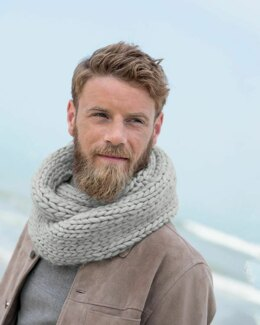 Tiago Snood in Phildar Phil Big Wool - Downloadable PDF