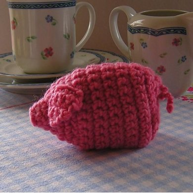 Egg cozy piggy