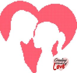 Lovers In Heart Silhouette Graphgan