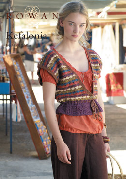 Kefalonia Cardigan in Rowan Cotton Glace