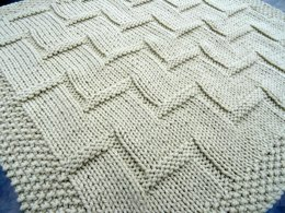 Stepping Up baby blanket