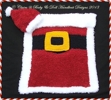 Christmas Car Seat Cover (fit standard 0-9m car seat)