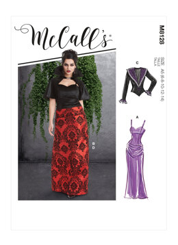 McCall's Misses' Costumes M8128 - Sewing Pattern