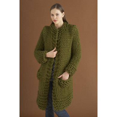 Weekender Jacket in Lion Brand Wool-Ease Thick & Quick - 70536AD