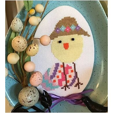 Luhu Stitches Easter Bonnet Luhu - Downloadable PDF