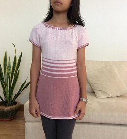 Girls' Woven Cable Dress/ Tunic