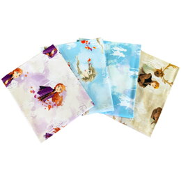 Visage Textiles Frozen 2 Fat Quarter Bundle - Multi