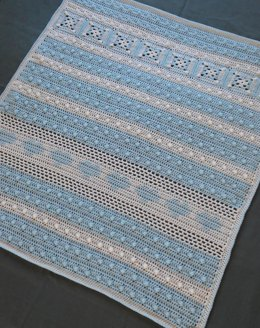 Snow Ball Baby Blanket