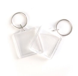 Trimits Pack of 2 Square Keyrings