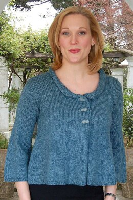 Cropped Swing Jacket to Knit
