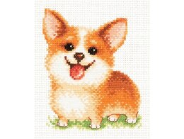 Magic Needle Keep a Smile Cross Stitch Kit - Multi