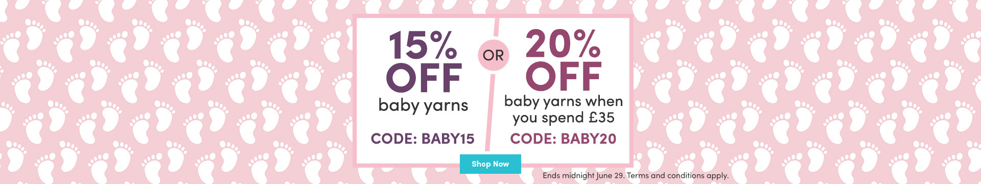 LK Marketing WW - 20% off baby yarns