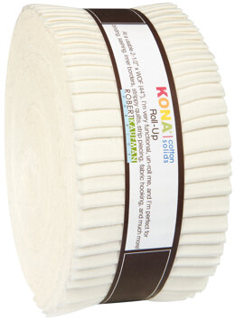 Robert Kaufman Kona Cotton Solids 2.5in Strip Roll - RU-189-40
