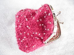 Grace beaded coin purse