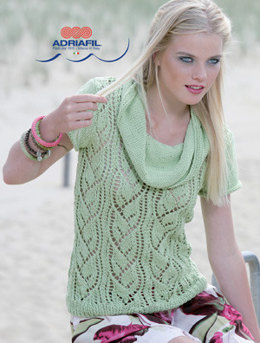 Sylvia Sweater in Adriafil Nature - Downloadable PDF