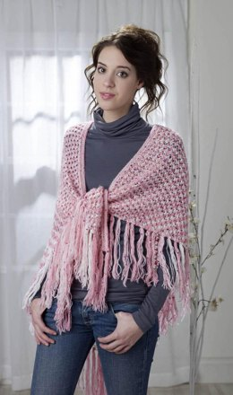 Peppermint Hug Shawl in Rozetti Yarns Polaris - Downloadable PDF
