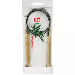"Prym Bamboo Fixed Circular Needles 80cm (32"") (1 Pair)"