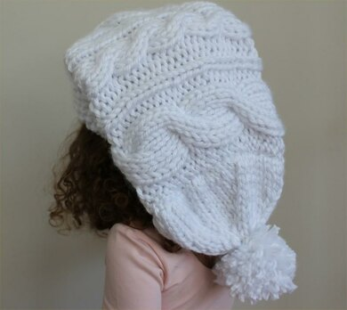 Cable Knit Stocking Hat