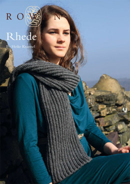 Rhede Scarf in Rowan Pure Wool Worsted